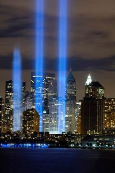 9-11_3_Beams_At_Groud_Zero