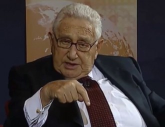 Kissinger at Bertelsmann