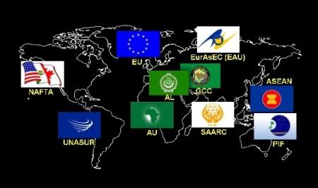 World Map wRegions, Titles