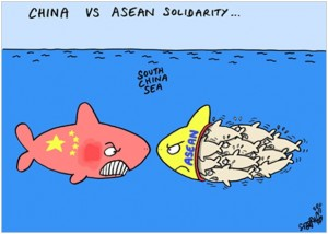 ASEAN - China - South-China-Sea