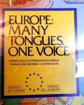EU poster Many Tongues One Voice 2