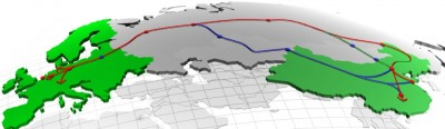 Eurasia - Map-Europe-China-Track2