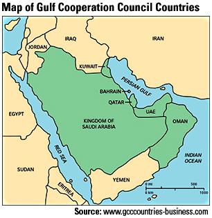 GCC-map