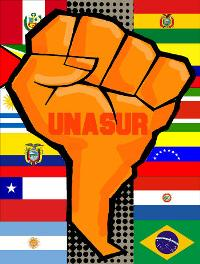 UNASUR - Clenched Fist