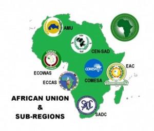 AU - African Union & Sub-Regions