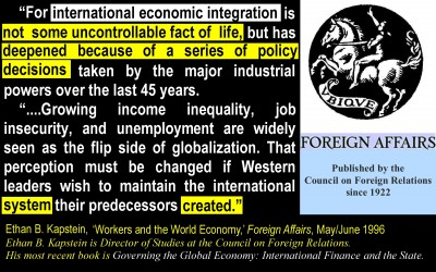 NWO - Integration Not a Fact of Life [CFR]